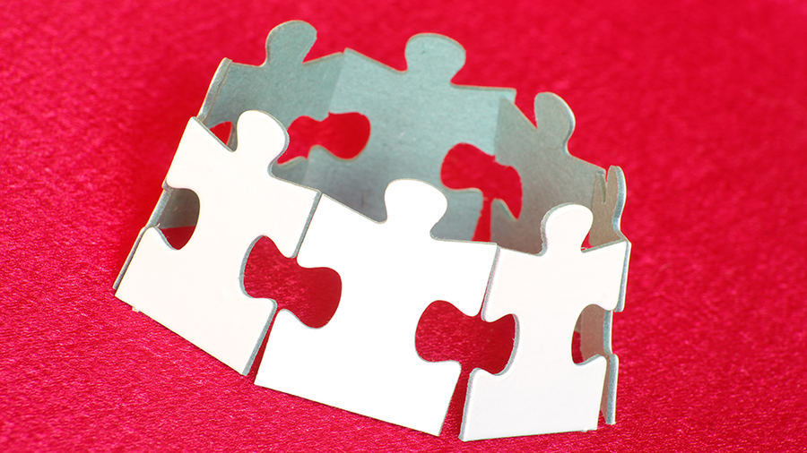 Autism Puzzle Piece Crown