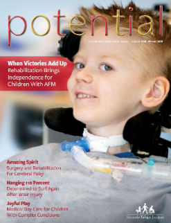 The cover of the Fall/Winter 2019 issue of Potential