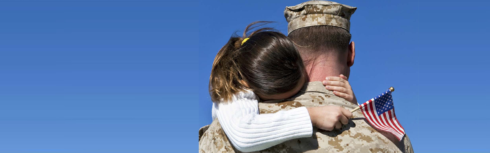 Military Families - Father and Daughter