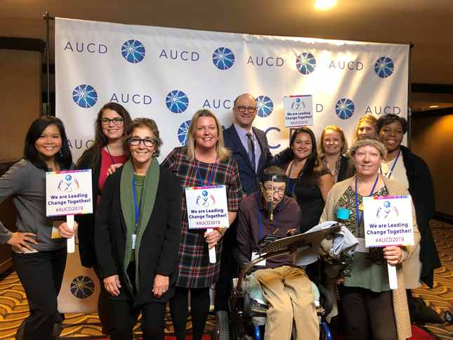 MCDD and Kennedy Krieger staff members at the 2019 AUCD conference