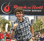 Greg at the Rock 'N' Roll Half Marathon in perfect health
