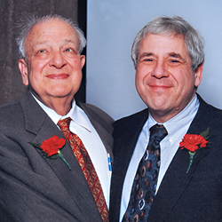 Dr. Hugo W. Moser and Dr Goldstein.