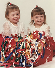Cheyenne and Dakota as toddlers