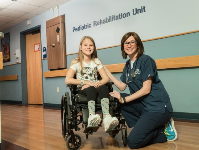 Pediatric Rehabilitation Unit