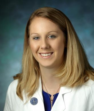 A photo of Dr. Laura A. Malone, MD, PhD