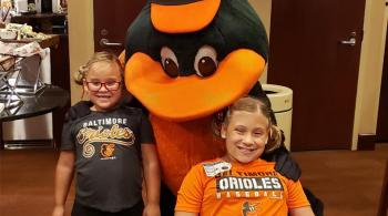 Kennedy Krieger patients with Oriole Bird