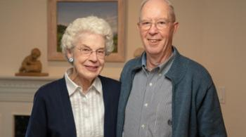 Barbara and Ron Walcher