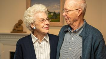 Barbara Walcher and Dr. Ron Walcher