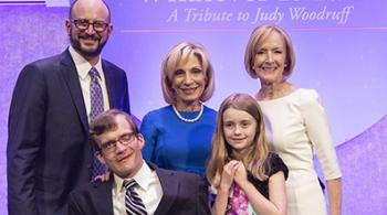Group photo with Judy Woodruff