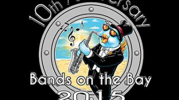 Bands on the Bay logo