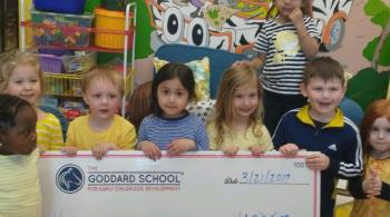 Goddard School students