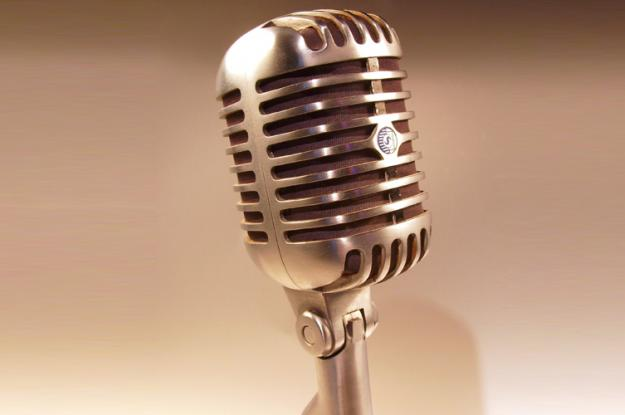 Old Style Microphone