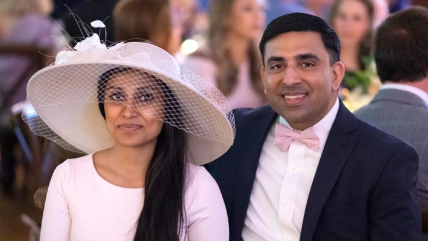 Vrinda Pani and Raj Goel