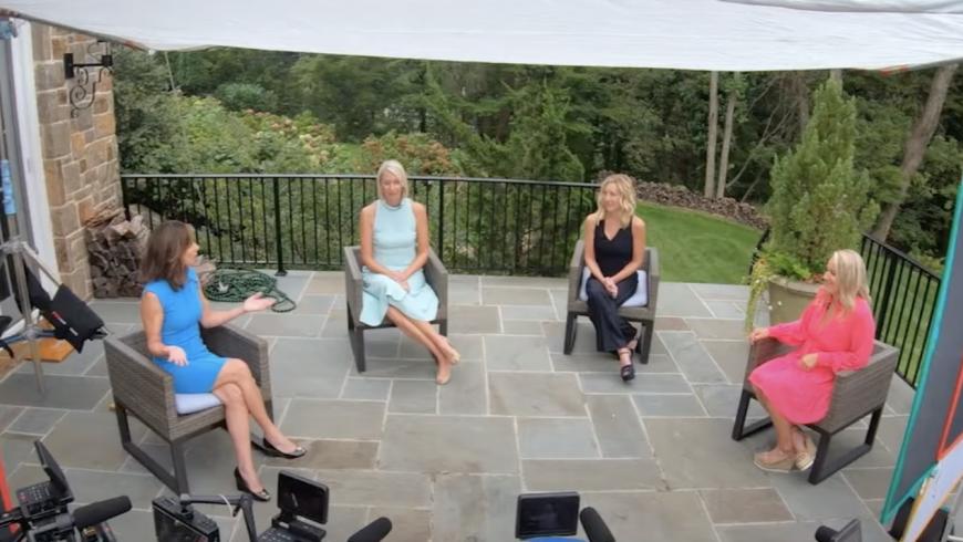 Mary Bubala interviews the Hats & Horses Co-chairs.