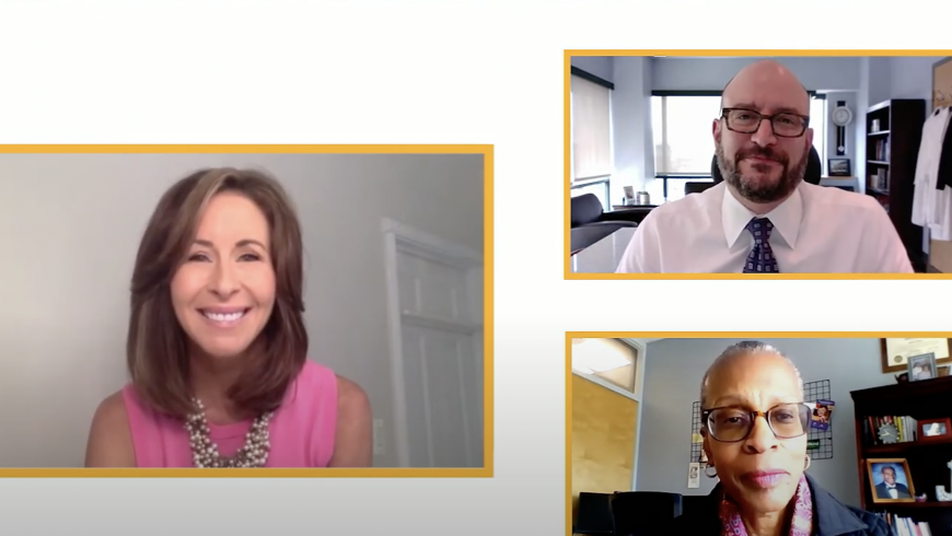 Mary Bubala interviews Dr. Jackie Stone, Chief Clinical Officer and Dr. Brad Schlaggar, CEO.