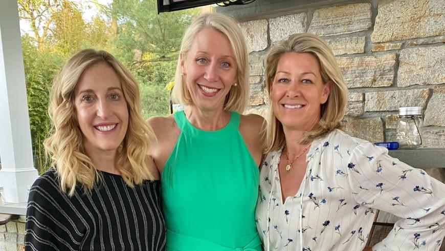 Co-chairs Aimee Fulchino, Cynthia Cavanaugh and Shari Tompkins