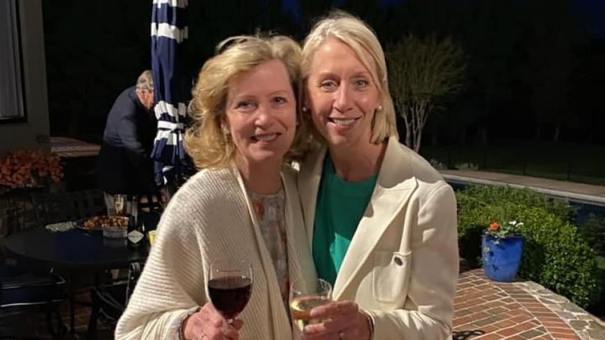 Carol Obrecht and Cynthia Cavanaugh